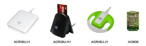 ACR38 USB Smart Card Readers