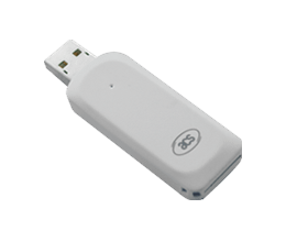 Smart Card Reader - ACR38T-D1 Plug-in (SIM-Sized) Card Reader