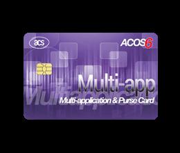 Smart Card - ACOS6 Multi-application & Purse Card (MAP Card) | ACS