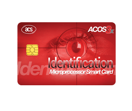 Smart Card - ACOS3X eXpress Microprocessor Card | ACS