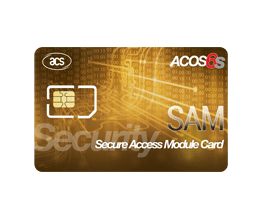 Smart Cards - ACOS6-SAM Secure Access Module Card | ACS