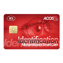 ACOS3x eXpress Microprocessor Card (Full-Sized, Contact)