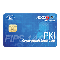 ACOS5-64 Cryptographic Smart Card (Full-Sized, Contact)