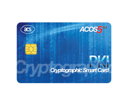 ACOS5-64 Cryptographic Card (Contact)