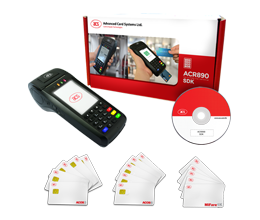 ACR890 All-In-One Mobile Smart Card Terminal Software Development Kit