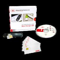 带大容量存储器的连机读卡器 - ACR100F SIMFlash 软件开发包