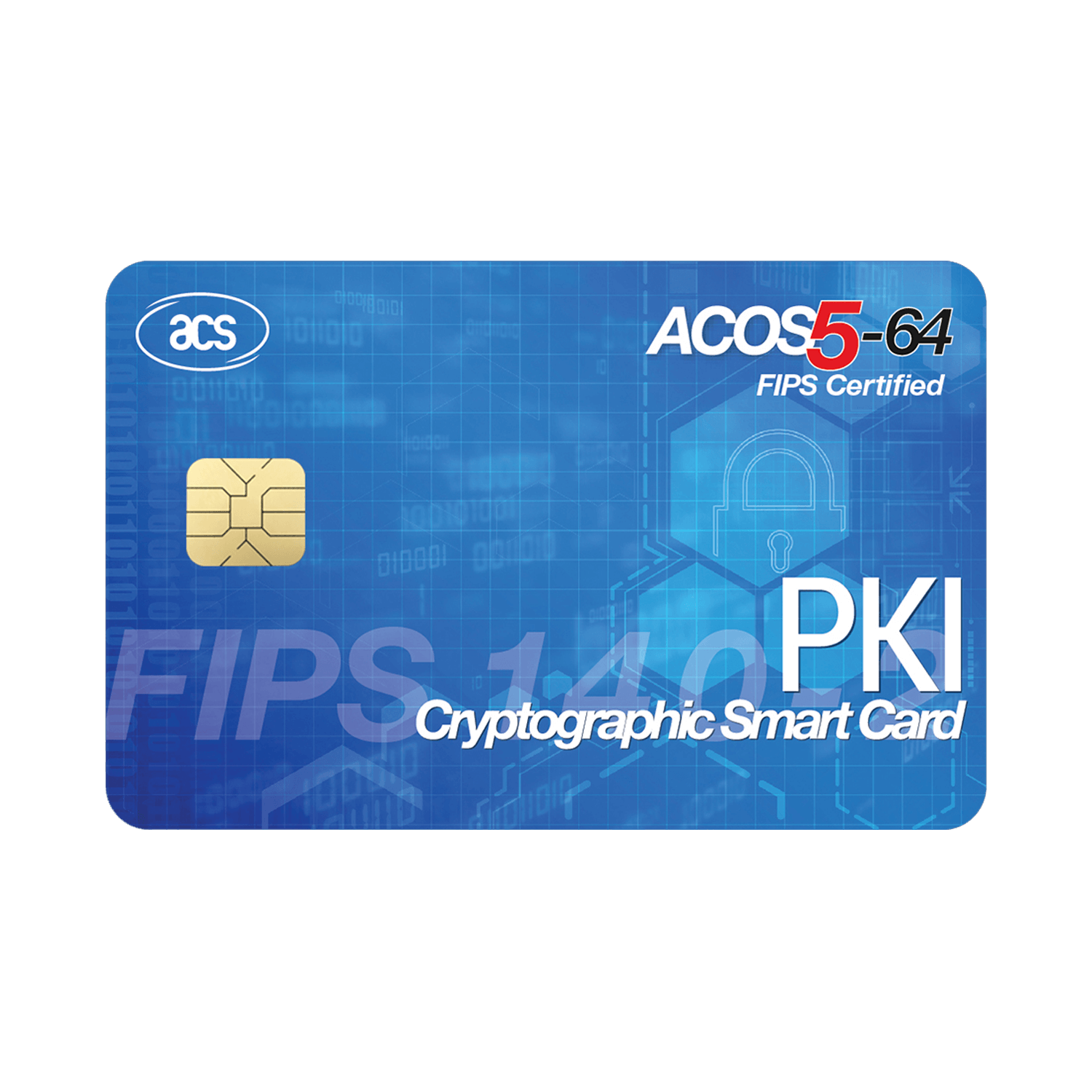 Smart Cards & Smart Card Operating Systems - ACOS5-64 V3.00 Cryptographic Card (Contact)