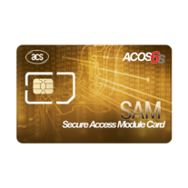 Smart Cards & Smart Card Operating Systems - ACOS6-SAM Secure Access Module Card (Contact)