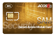 ACOS6-SAM Secure Access Module Card