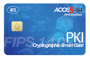 ACOS5-64 V3.00 Cryptographic Card (Contact)