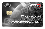 ACOS10 PBOC2.0 EDEP Payment Card (Contact)