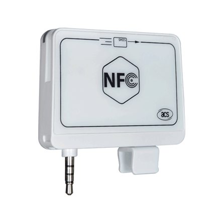 Mobile Card Readers - ACR35 NFC MobileMate Card Reader | ACS