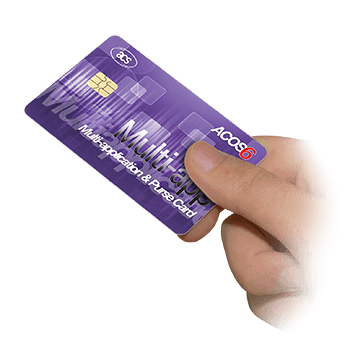ACOS6 Multi-application & Purse Card (Contact)