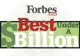 Forbes Asia's Best Under A Billion 2015