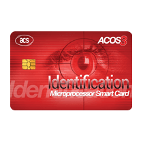 ACOS3 Microprocessor Card (Full-Sized, Contact)