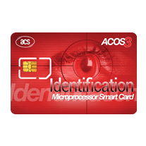 ACOS3 Microprocessor Card (SIM-Sized, Contact)