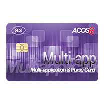 ACOS6 Multi-application & Purse (MAP) Card (Full-Sized, Contact)