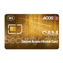 ACOS6-SAM Secure Access Module Card (SIM-Sized, Contact)