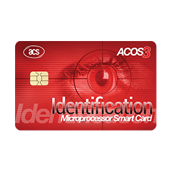 ACOS3  Microprocessor Card (Contact)