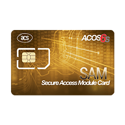 ACOS6-SAM Secure Access Module Card (Contact)