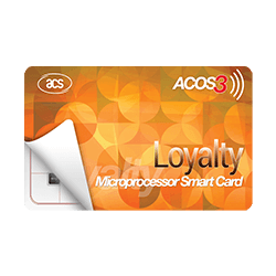 ACOS3  Microprocessor Card (Contactless)