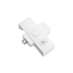 ACR39U-ND PocketMate II 智能卡读写器 (Micro-USB)