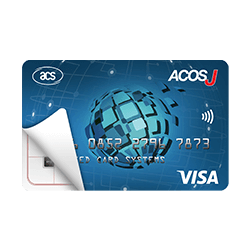 ACOSJ-V  VISA Certified EMV Payment Card (Contactless)