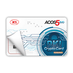 ACOS5-EVO  PKI Smart Card (Contactless)