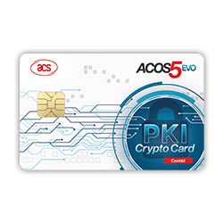 ACOS5-EVO  PKI Smart Card (Combi)