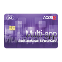 ACOS6 Multi-application & Purse Card (Contact) Image