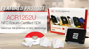 Featured Product: ACR1252U NFC Forum–Certified Reader Software Development Kit